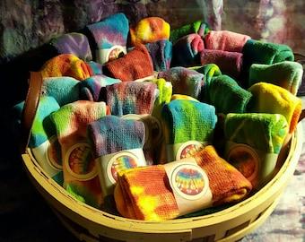Tie Dyed Socks!!