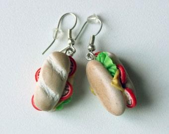 Veggie Brioche Miniature Earrings