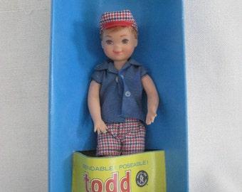 Vintage TODD Doll by Mattel in ORIGINAL BOX