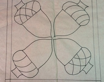 Saving Acorns Rug Pattern