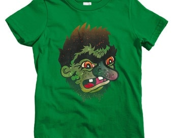 Kids Troll T-shirt - Baby, Toddler, and Youth Sizes - Monster Tee, Fantasy, Cartoon - 2 Colors