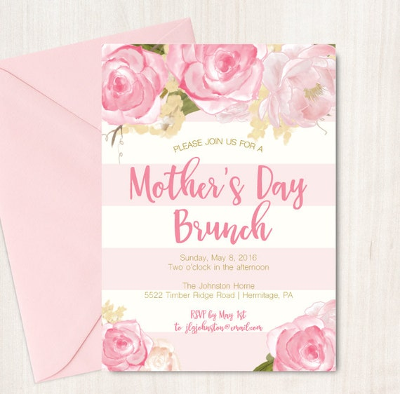 mother 39 s day brunch invitation easter brunch invite by oohlalovely. Black Bedroom Furniture Sets. Home Design Ideas