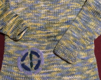 Alpaca children sweater
