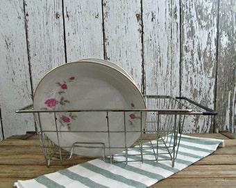 Vintage Metal Dish Drainer *Free Shipping*