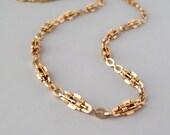 Antique 14k Gold Necklace. Victorian.