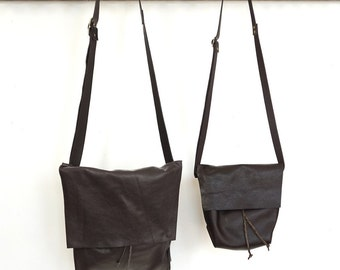 Bolsa- Messenger Bucket Crossbody Bag- Espresso