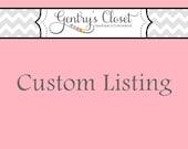 Custom Listing Reserved for Kimberly Robaczewski - Shipping on last hoodie
