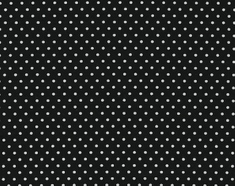 BT-3482-13 BLACK with white dots from Pimatex Basics Robert Kaufman - per yard