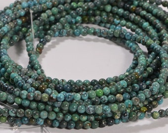 Turquoise Half Strand Beads 2.8mm Natural Gemstone Beads Jewelry Making Supplies