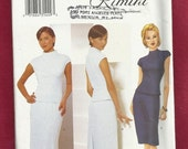 Summer SALE Butterick 6502 Rimini's Evening Length Skirt with Gorgeous Fishtail Inset Top with Raised Neckline Sizes 12-14-16 UNCUT
