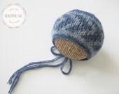 Knitting Pattern - Open Waves - Newborn Photography Prop