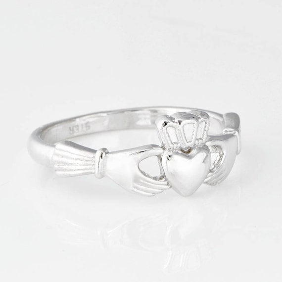 sterling silver claddagh ring claddagh jewelry sterling