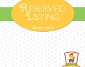 Reserved Listing, Custom Fleece Processing, Llama Batts
