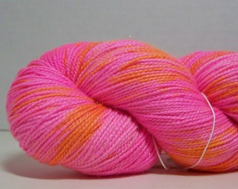 Superwash Merino, Nylon, Stellina, Sock Yarn, 438 yrds, 2 ply, 100g