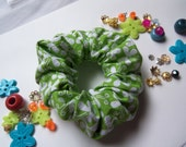 Handmade Cotton Scrunchy. Hair Scrunchy. Hair Accessories.