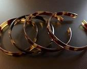 Vintage Tortoise Shell Bracelets SALE now 30% off