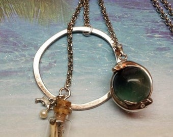 Fluorite Dolphin Necklace
