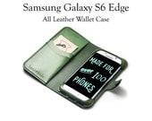 Galaxy S6 Edge Leather Wa...