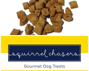 Homemade Gourmet Dog Treats - Pumpkin Flavored Dog Biscuits Perfect for Training - 8 oz