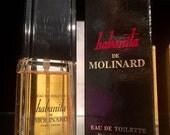 Habanita Molinard Original Formula .85oz eau de toilette Spray Nib rare