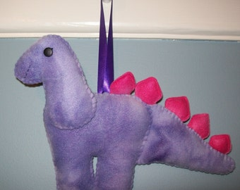 Dinosaur Fleece Tooth Fairy Pillow - Ready to Ship!