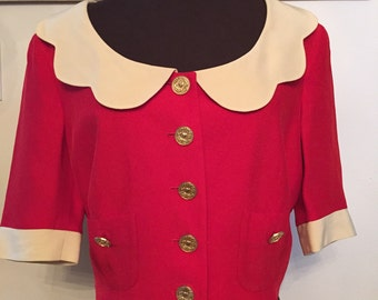 Reduced! Rare Vintage Moschino Prêt-A-Porter Popeye Blouse Cheap & Chic Line