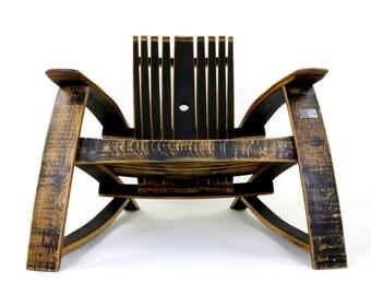 Bourbon Barrel Lounge Chairs