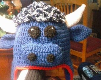 Buffalo Bills Blue Buffalo Hat with Ear Flaps