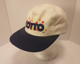 Vintage 1980s Trucker Ball Cap - LOTTO Missouri Lottery -  Lottery, Gambling, Rockabilly, Retro, Mens Accessories