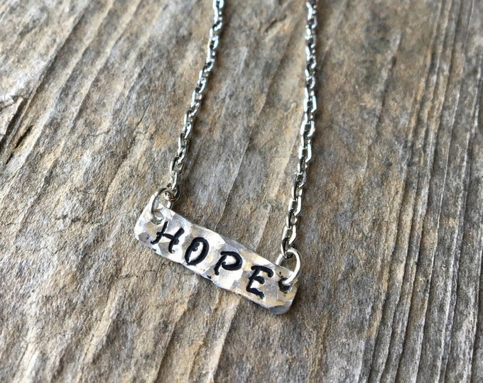 Hope Necklace Faith Jewelry