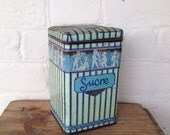 Vintage French Sugar / Sucre Tin