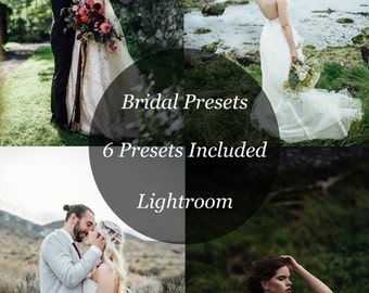 Bridal Lightroom Film Presets
