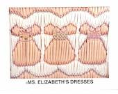 "Counterchange ""Ms. Elizabeth's Dresses"" Smocking Plate by Ann Hallay Designs"