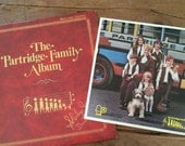 The Partridge Family Album With Original Poster  Vintage Vinyl 1970s First Partidge Family Album Starring Shirley Jones and David Cassidy