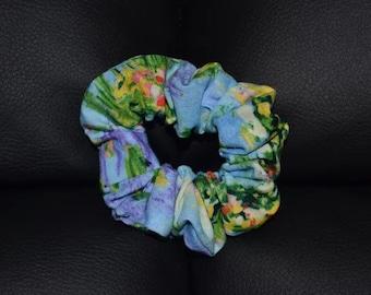 Water Lilies Scrunchie