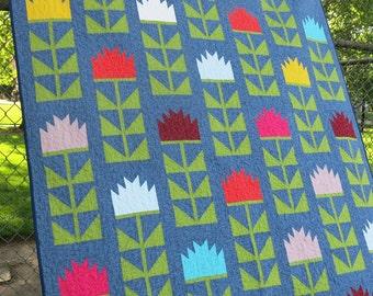Elizabeth Hartman - Thistle - Quilt Pattern (ElizabethHartman_Thistle)