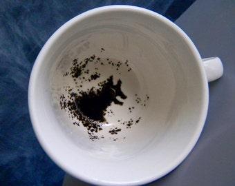 Harry Potter Grim inspired tea cup