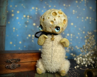 Moonchild - whimsical art doll fantasy creatures