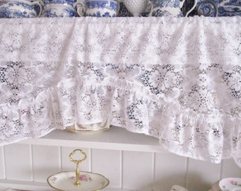 Unique Lace Valance Related Items Etsy