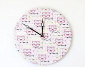 Sale, Retro Wall Clock, Home and Living, Vintage  Eyeglasses, Home Decor, Decor and Housewares, Wall Clocks, Unique Wall Clock