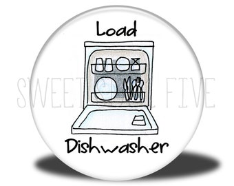 Load Dishwasher - Chore Magnet