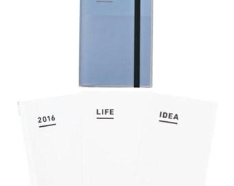 Jibun techo,KOKUYO jibun techo planner A5size, 2016 ,