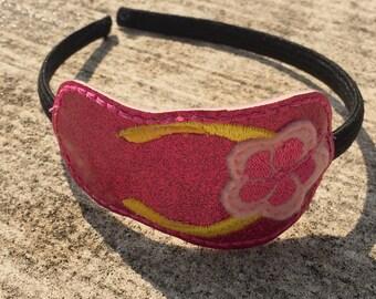 Pink Flip Flop Summer Headband, Hair Accessory