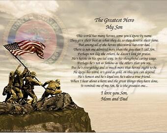 MILITARY: Marines Keepsake Remembrance