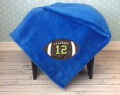 Custom Football Blanket, Football blanket for adults and kids, 12th Man, Seattle Seahawks blanket, Dallas Cowboys, 49ners,