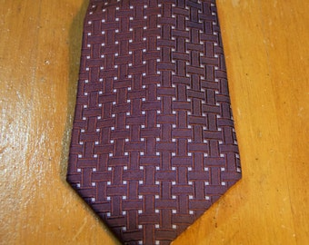 Vintage Authentic Dunhill Silk Tie