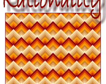 NEW - RATIONALITY - Quilt-Addicts Patchwork Quilt Pattern