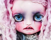Mortie an Icy Custom Doll by aniO