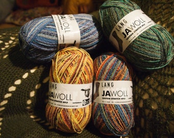 Jawoll Cotton Stretch - sock yarn - SALE - only 10.99 USD