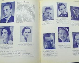 Malvern Festival Program 1935 George Bernard Shaw Theatre Programme Barry Jackson The Birmingham Repertory Theatre Vintage Ephemera